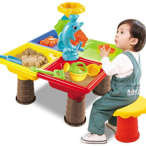 Water And Sand Play Table For Kids Dolphin Square - Shopptique