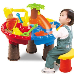 Water And Sand Play Table For Kids Small Tree Round - Shopptique