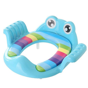 Toddlers Potty Trainer Toilet Seat Blue - Shopptique