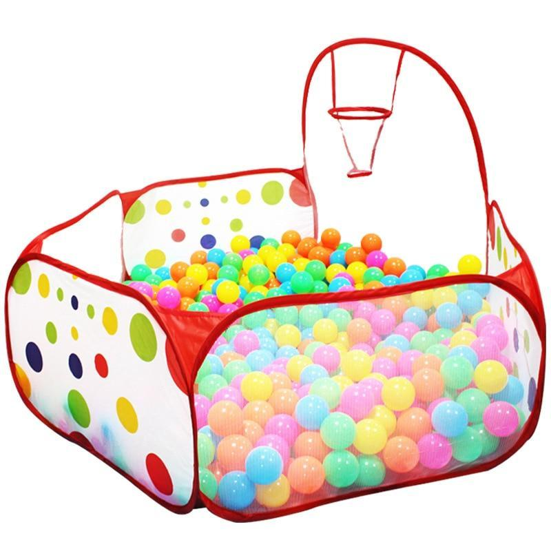 Premium Indoor Ball Pit For Kids 0.9m with basket - Shopptique