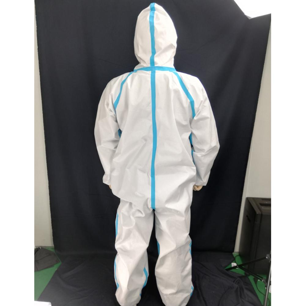 Heavy Duty Lightweight Disposable Safety Coverall White - Shopptique