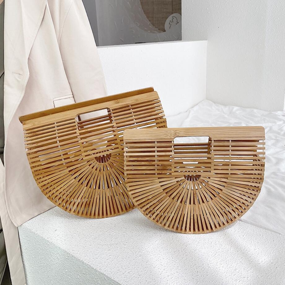 Handmade Womens Bamboo Handbag - Shopptique