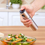 Cooking Oil Sprayer Bottle Stainless Steel - Shopptique