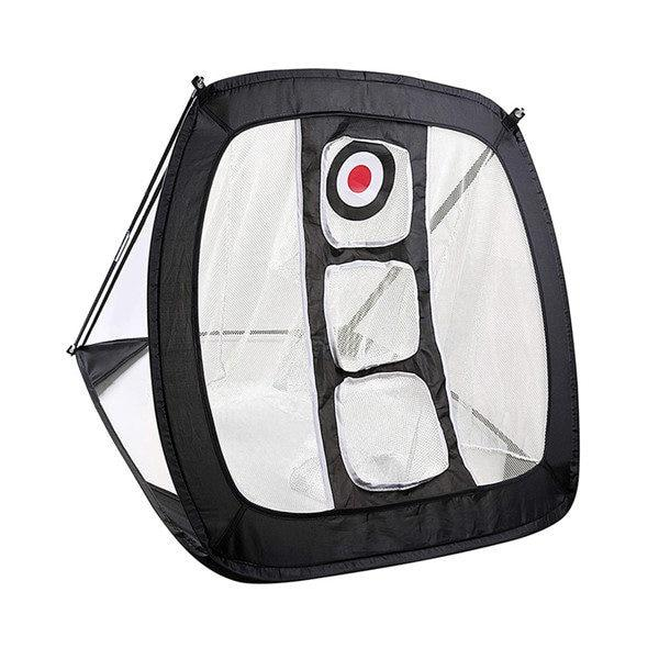 Portable Golf Hitting Practice Net Black - Shopptique