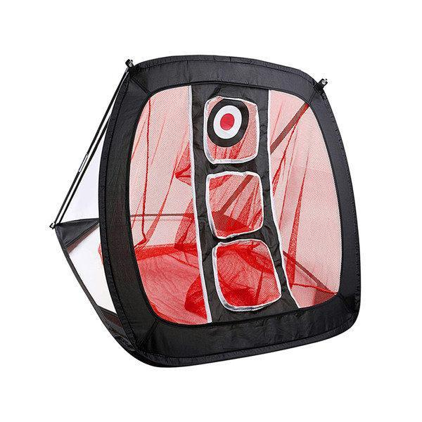 Portable Golf Hitting Practice Net Red - Shopptique