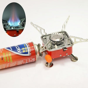 Portable Single Burner Butane Gas Stove - Shopptique