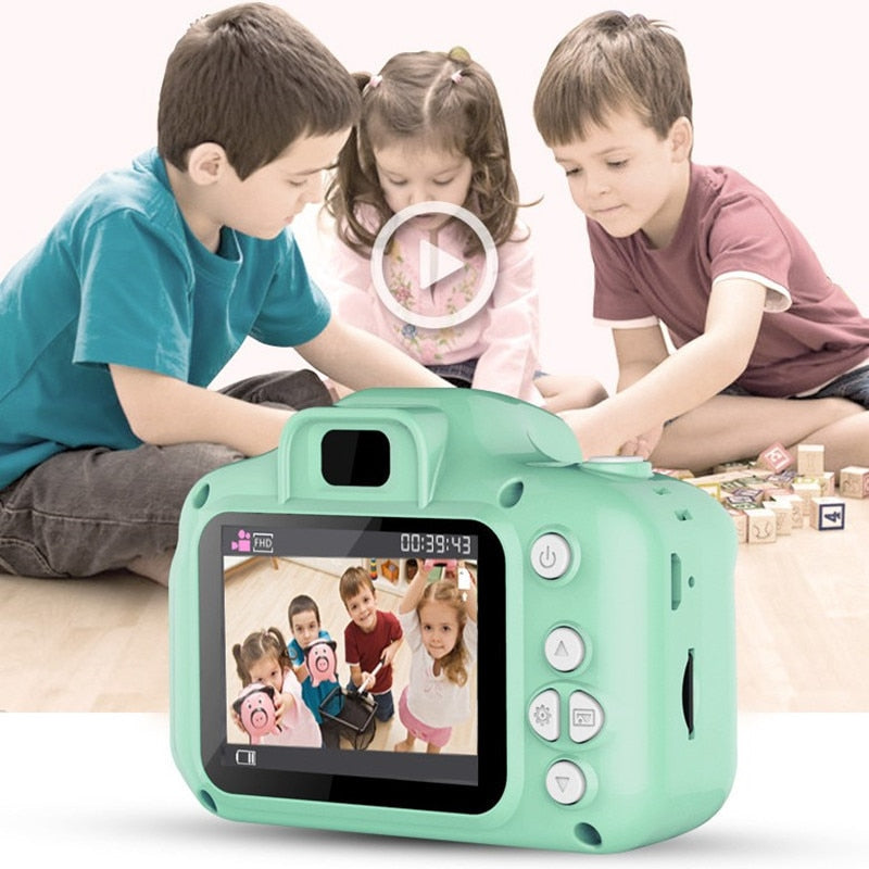 EduKids Digital Video Camera For Kids Children Kids Camera Mini Educational Toys For Children Baby Gifts Birthday Gift Digital Camera 1080P Projection Video Camera - Shopptique