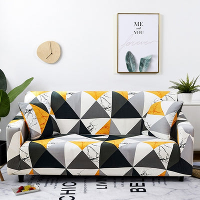 Premium Quality Stretchable Elastic Sofa Covers Premium Quality Stretchable Elastic Sofa Covers Color 1 / 4-seater - Shopptique