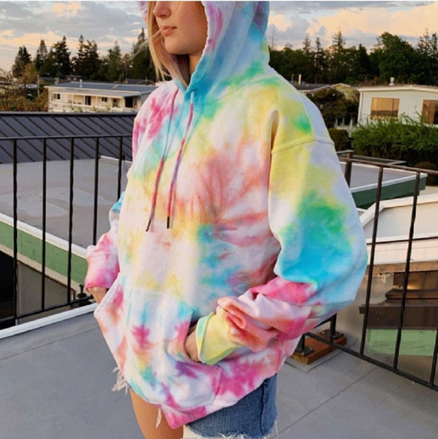 New Fluffy™ Sweatshirt Fashion Print Sweatshirt Hoodie winter Rainbow / XL - Shopptique