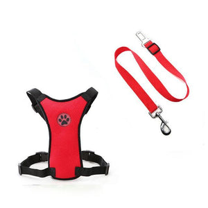 Dog Car Harness Seat Belt Restraint - Shopptique