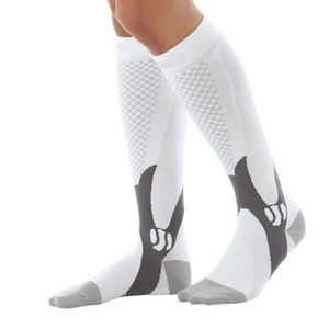 Premium Compression Support Ankle Socks For Men And Women White / S M - Shopptique