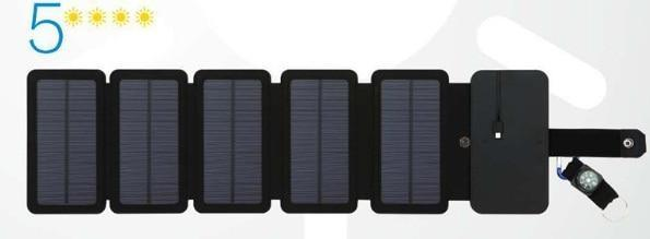 Portable Solar Powered Charger Panel Foldable - Shopptique