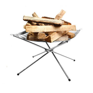 Portable Camping Bonfire Fire Ring Pit - Shopptique