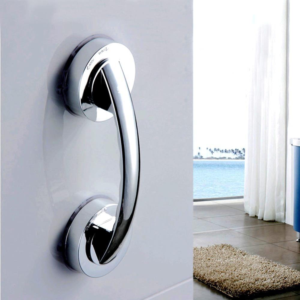 Bathroom Shower Safety Grab Bar Silver - Shopptique