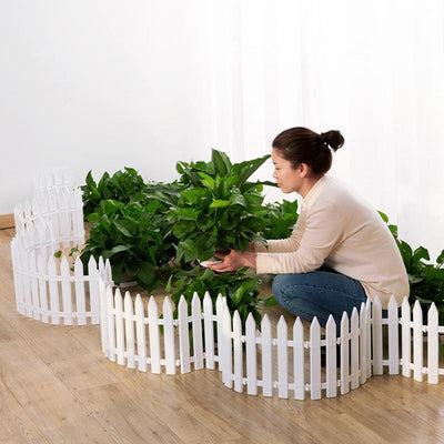 "Small Decorative Vegetable Garden Border Fence 19"" x 11"" - Shopptique"
