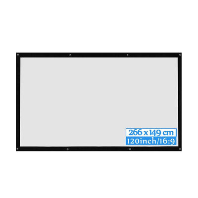 Portable Home Theater Projector Screen 4K - Shopptique