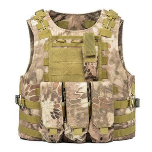 Military Tactical Plate Carrier Vest S Snake / One Size - Shopptique