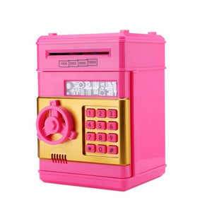 Kids Piggy Coin Bank Pink - Shopptique