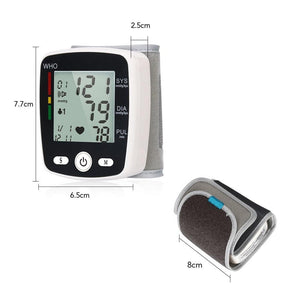 Wrist Blood Pressure Home Monitor Cuff - Shopptique