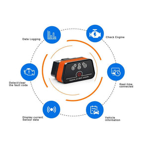 OBD2 Bluetooth Code Scanner Tool - Shopptique