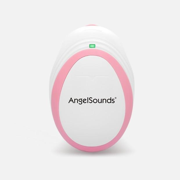 Fetal Baby Doppler Home Heartbeat Monitor Pink - Shopptique