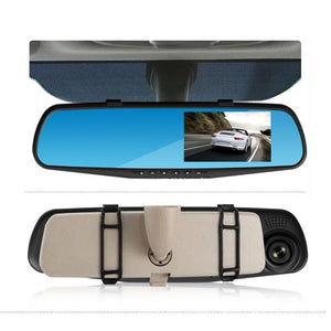 Backup Rearview Mirror Dash Camera For Car With 32G TF Card - Shopptique