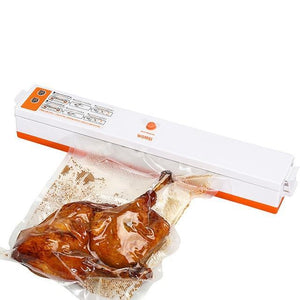 Food Vacuum Packaging Sealer Machine Orange - Shopptique