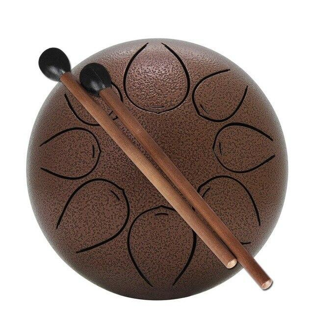 Steel Tongue Hang Drum Pan Hand Drum Coffee - Shopptique