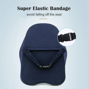 Lumbar Back Support Pillow Cushion For Chairs - Shopptique