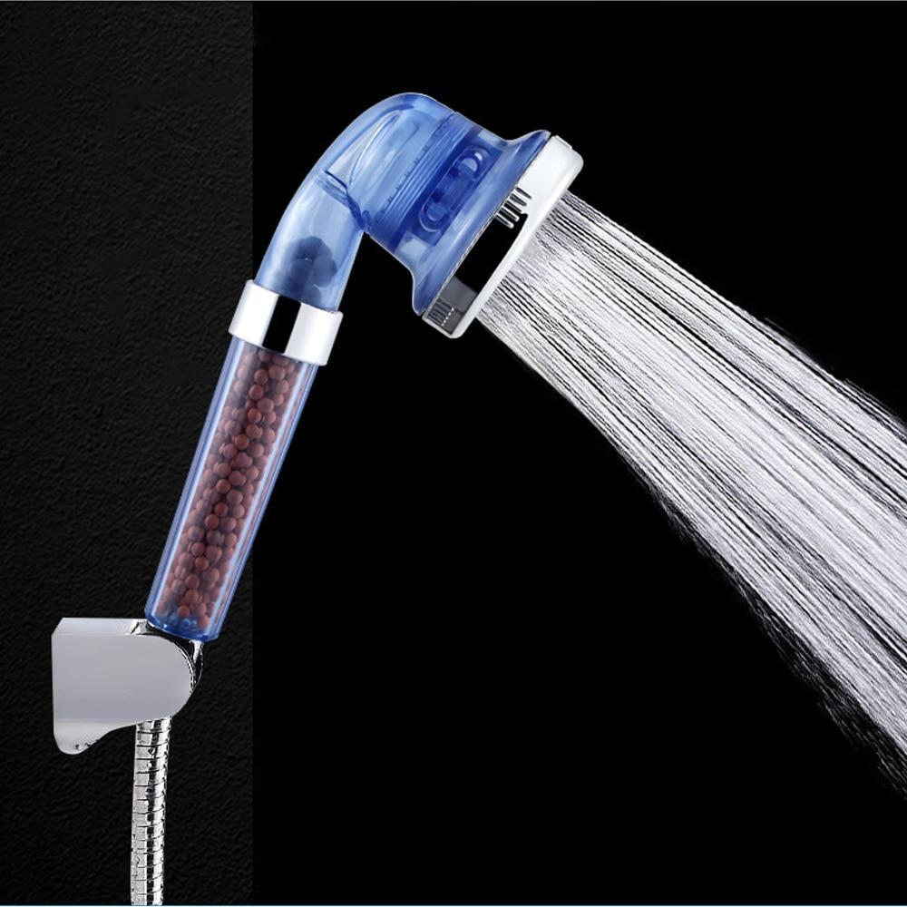 Handheld High Pressure Shower Head Water Filtering Massage Shower - Shopptique