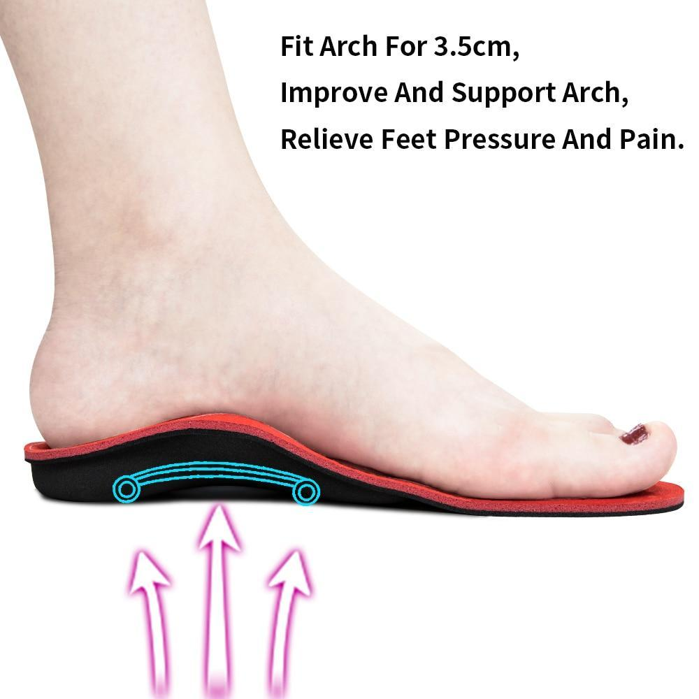 High Arch Support Inserts Flat Feet Shoe Insoles - Shopptique