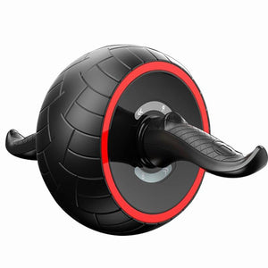 Power Abs Roller Wheel Machine Red - Shopptique