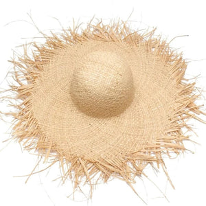 Handmade Bamboo Straw Hat - Shopptique