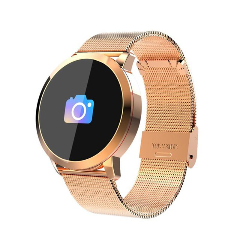 Smartwatch - with Bluetooth Waterproof Device Sports Tracker Smartwatch - with Bluetooth Waterproof Device Sports Tracker Gold - Shopptique
