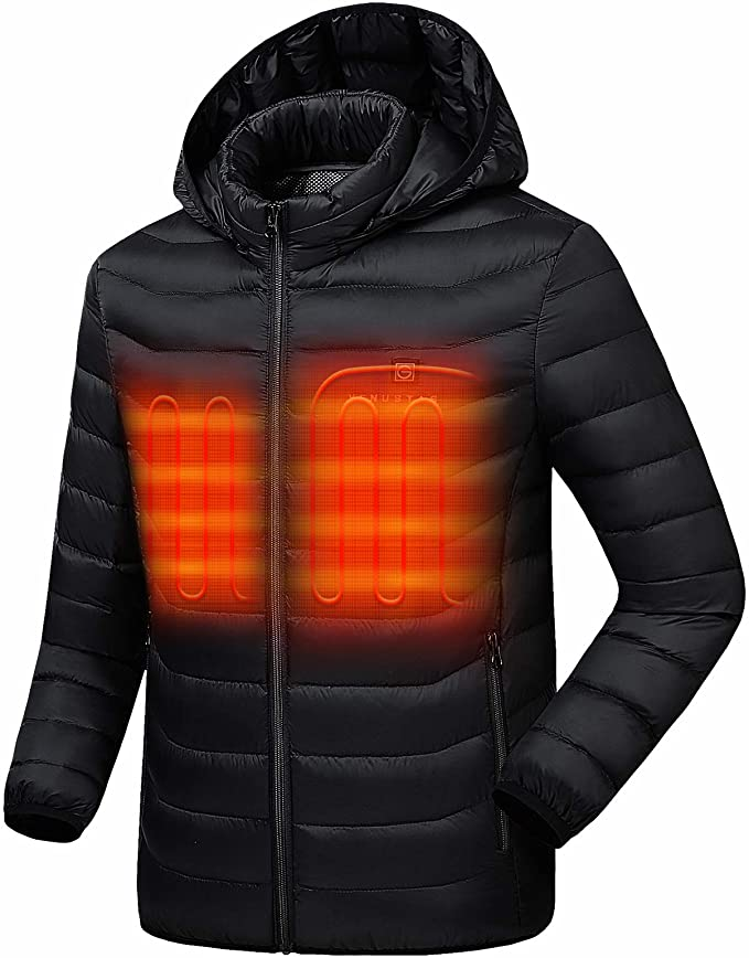 Snap On Heated Electric Jacket Battery Operated S / Upgrade - Shopptique