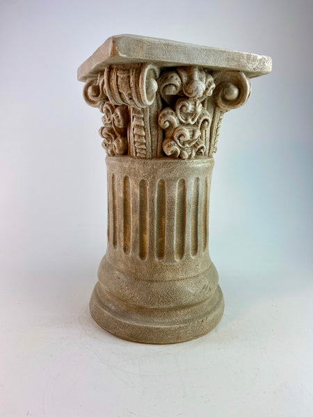 "16"" Classic Ionic Fluted Column Pedestal"
