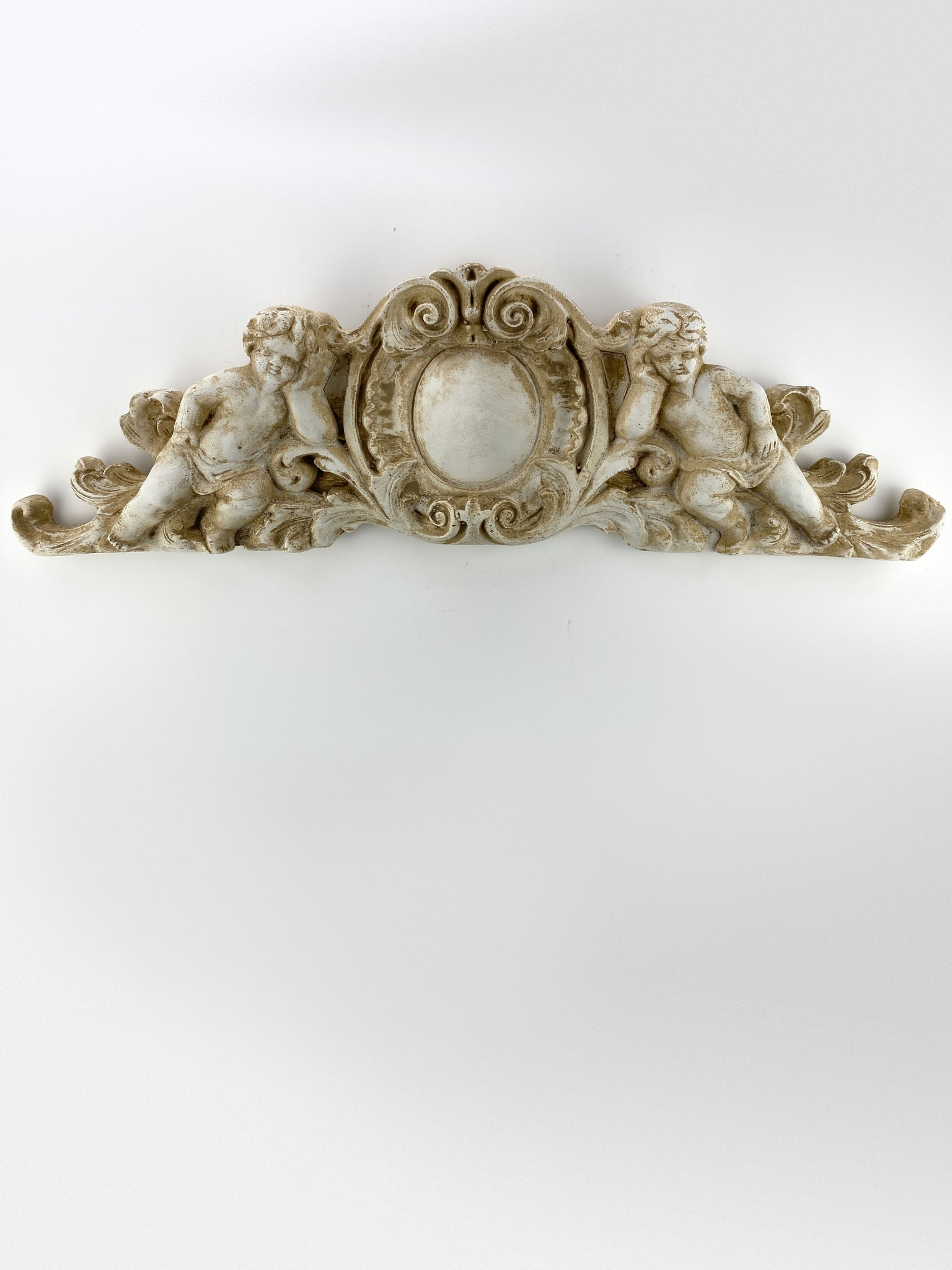 Baroque Putti Door Pediment
