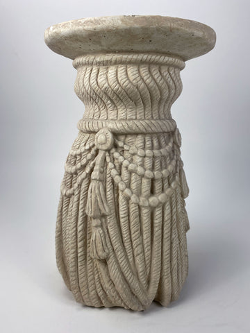 "18"" Braided Rope Pedestal"