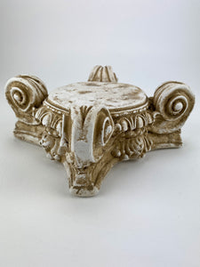 Greek Ionic Capital Riser Column