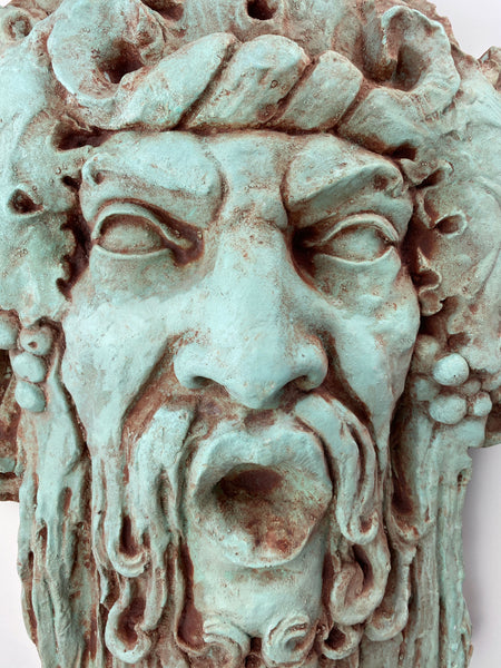 Bacchus Fountain Face