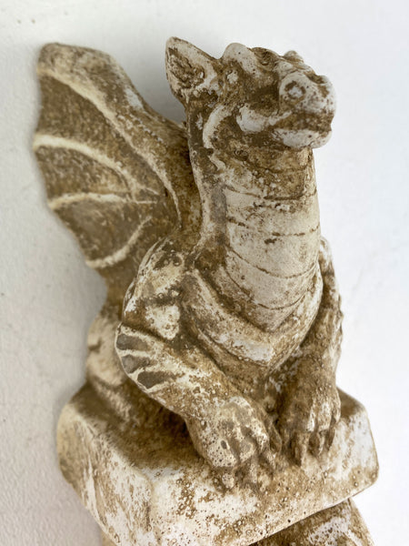 Winged Dragon Curtain Rod Drapery Sconce