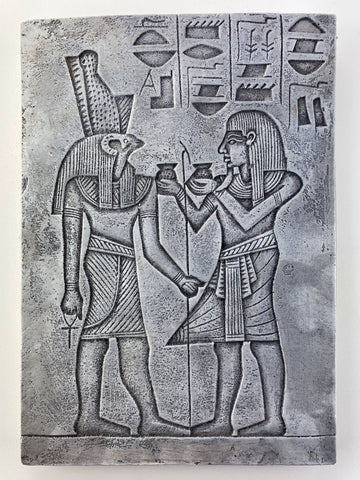 Egyptian God Horus Wall Tablet