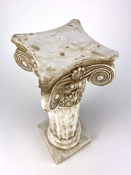 "15"" Fancy Ionic Fluted Column Shell Motif"