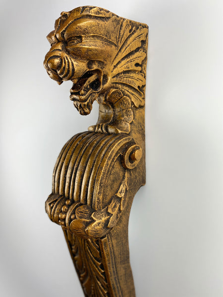 Ornate Lion Pilaster