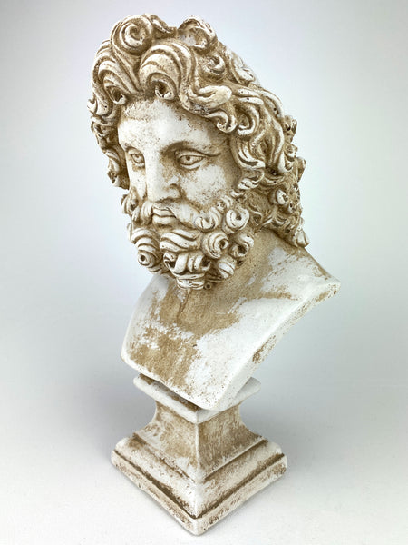 Greek Mythology Zeus Bust Sculpture