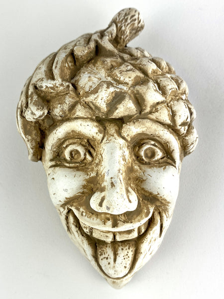 Green Man Happy Acorn Face Wall Hanging