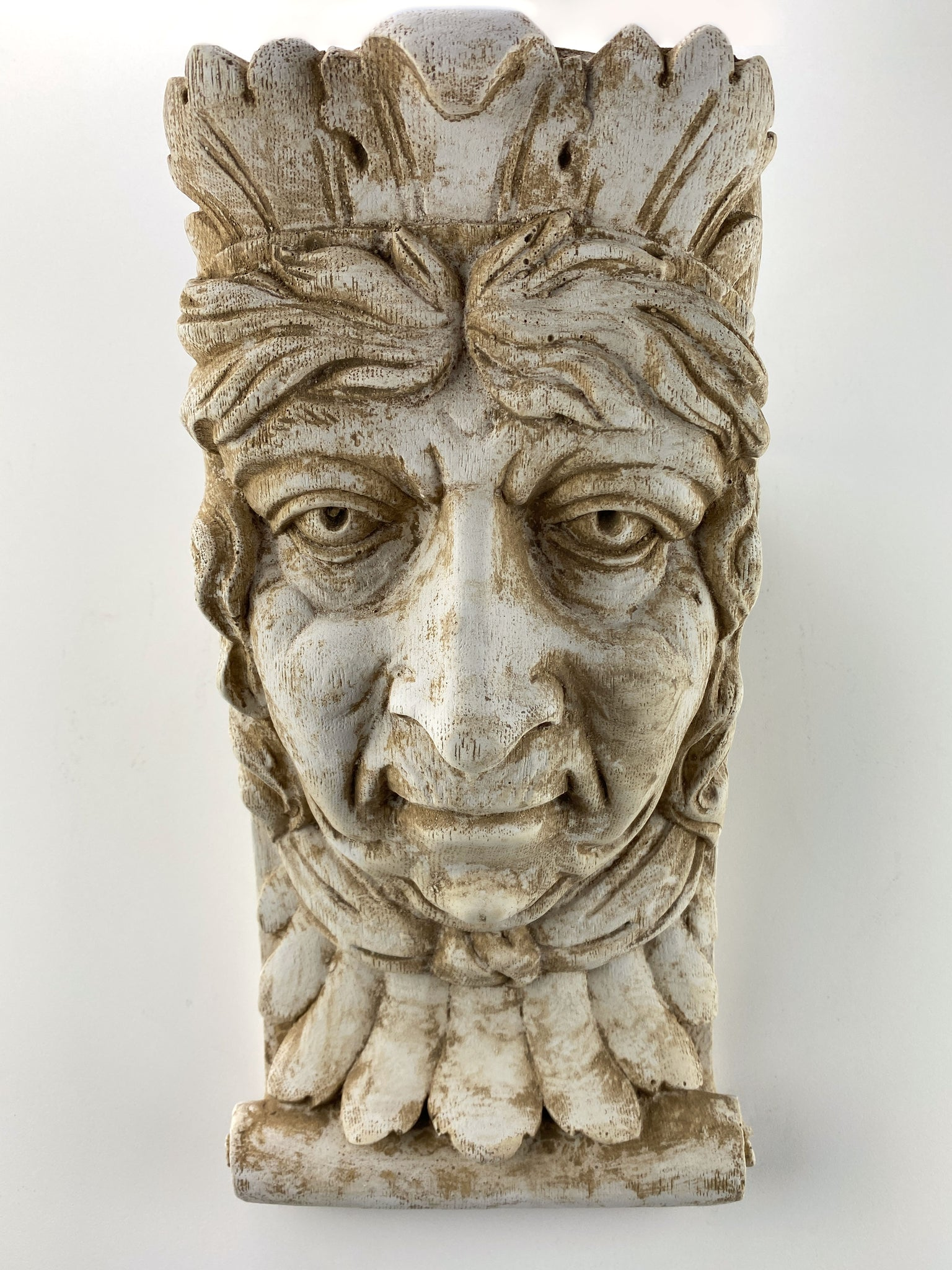King Face Old Jester Corbel