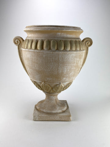 Leaf Urn Planter with Handles