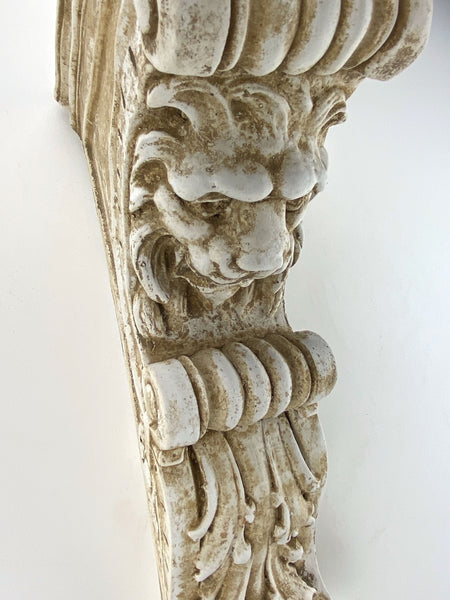 Lion Bracket Sconce Shelf