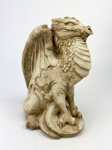 Mythical Medieval Dragon Statue